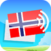 Learn Norwegian Vocabulary with Gengo Audio Flashcards